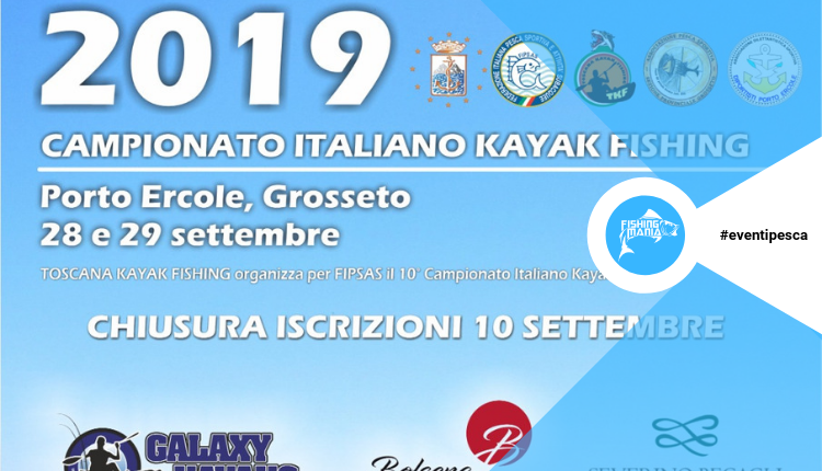 10° Campionato Italiano Kayak Fishing