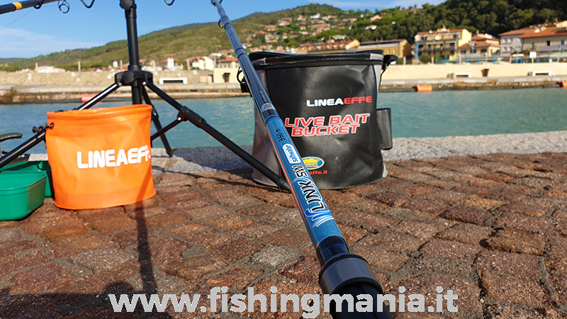 Lineaeffe Link Feeder 60 gr Canna Feeder Fishing Pesca in Fiume Lago Mare